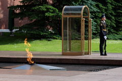 La llama eterna, Moscú Imágenes de archivo libres de regalías