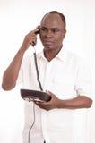 La llamada de teléfono Imagen de archivo libre de regalías