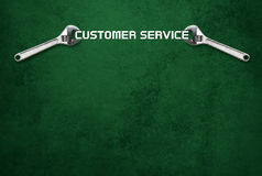 La llave celebra las letras, servicio de atención al cliente Imagen de archivo
