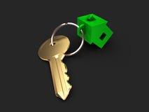 La llave del apartamento Fotografía de archivo libre de regalías