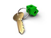 La llave del apartamento Fotos de archivo