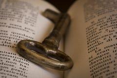 La llave del conocimiento Foto de archivo