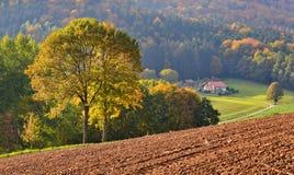 La llegada del otoño Imagen de archivo libre de regalías