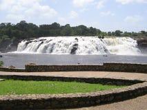 La Llovizna-Park, tropischer Wasserfall Stockbild