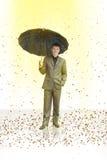 La lluvia Foto de archivo libre de regalías