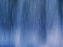 La lluvia cae el fondo Tiempo lluvioso ejemplo abstracto del vector Fotos de archivo libres de regalías