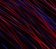 La lluvia estrellada abstracta, un rastro de estrellas se fue en el espacio frío del universo Imagen de archivo libre de regalías