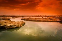 La Loberia coastline Stock Images