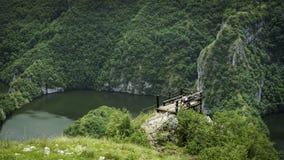 La località di soggiorno di montagna Immagini Stock Libere da Diritti