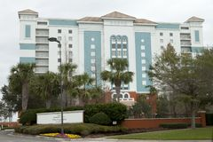 La località di soggiorno Florida delle fontane Fotografia Stock