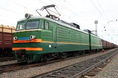 La locomotiva Fotografie Stock Libere da Diritti