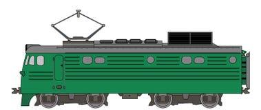 La locomotiva Fotografia Stock
