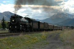 La locomotiva di vapore dell'imperatrice Fotografia Stock