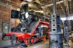 La locomotive à vapeur Images libres de droits