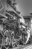 La locomotive à vapeur photos stock
