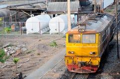 La locomotive électrique diesel Images stock