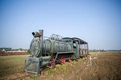 La locomotora Imágenes de archivo libres de regalías