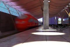 La locomotora Fotos de archivo