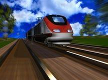 La locomotora Imagen de archivo