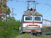 La locomotora. Fotos de archivo libres de regalías