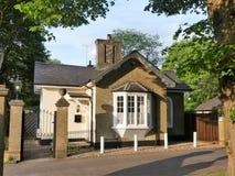 La loge, ruelle de chenil de chien, Chorleywood photos stock