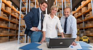 La logistique team a Photos stock