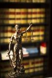 La loi espagnole de vieux livres juridiques rapporte la bibliothèque Espagne Images stock