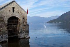 La Lombardie. Lac principal Images libres de droits