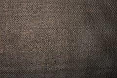 La lona de arte se cubre con la pintura negra, para el fondo y el textu Fotos de archivo libres de regalías