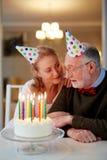 La longue et heureuse vie ensemble Photographie stock libre de droits