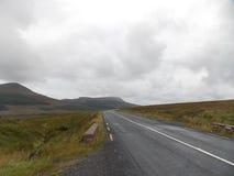 La longue route Photographie stock