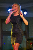 La Lorraine Mc Donald a desserré par le Showband de conquérants Image stock