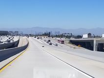 la los highway Fotografia Royalty Free