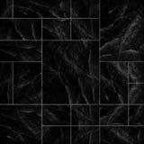 La losa negra moderna, slate el fondo de la pared de piedra/la piedra del negro Imagen de archivo libre de regalías