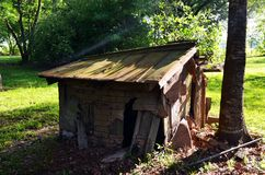 La Louisiane a abandonné la niche à la maison 08 Image libre de droits