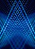 La luce blu trascina il fondo Fotografie Stock