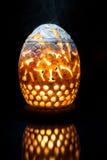 La luce dalla lanterna Fotografia Stock Libera da Diritti