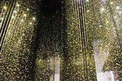 La luce dell'installazione è tempo dal cittadino ai Di Milano di Triennale Immagine Stock Libera da Diritti