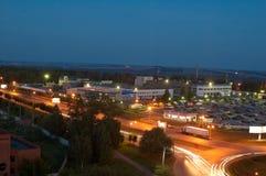 La luce di Iževsk Immagine Stock