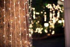 La luce rende a stella il potere del lence Fotografie Stock Libere da Diritti