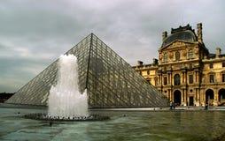 La lumbrera y la pirámide Fotografía de archivo libre de regalías