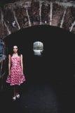 La lumière à l'extrémité du tunnel photographie stock libre de droits
