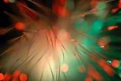 La lumière abstraite traîne le fond images libres de droits