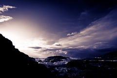 La lumière après la tempête Photo libre de droits