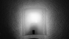 La lumière clignote fréquemment banque de vidéos
