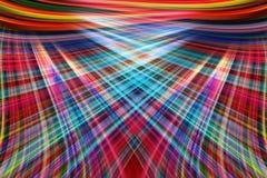 La lumière colorée traîne le fond Images stock