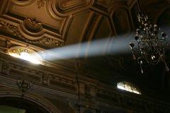 La lumière de l'église Images stock