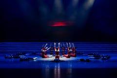 La lumière de matin de la danse monter-moderne prélude-jeune Image stock