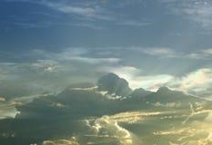 La lumière du nuage Image libre de droits