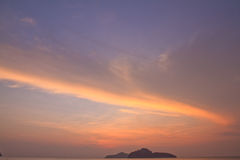 La lumière du soleil de matin Image stock